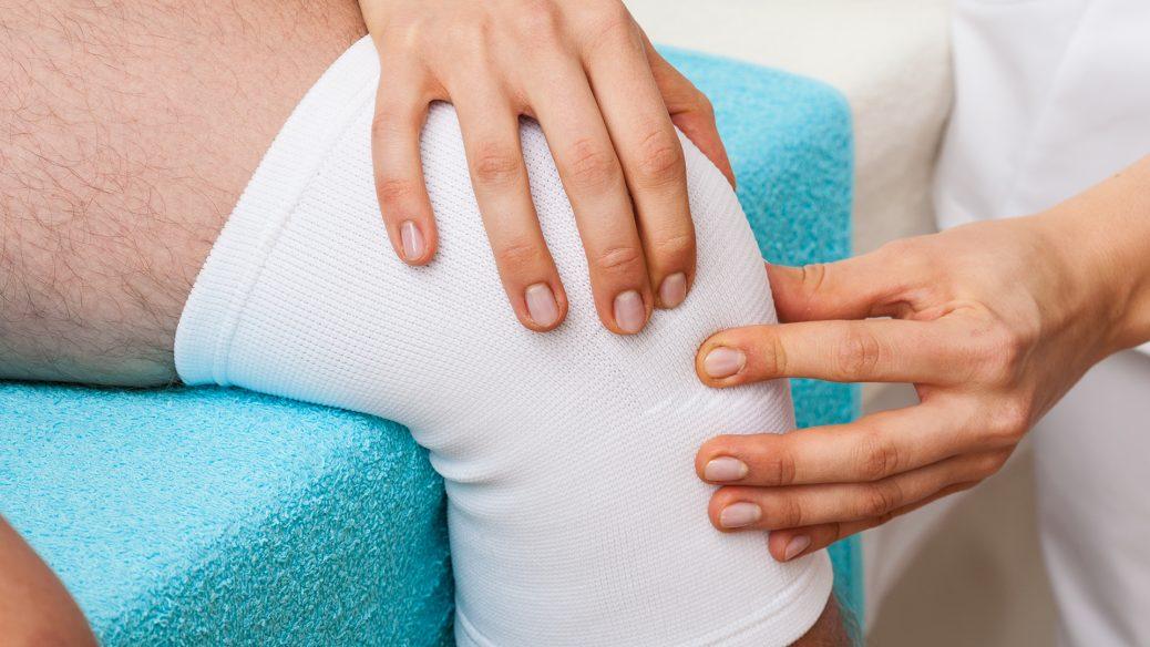 Диагностика и лечение растяжения коленного сустава