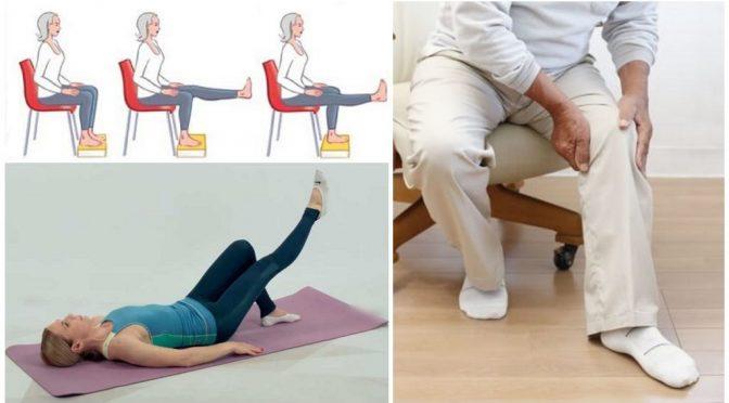 Гимнастика для суставов при артрозе коленных суставов