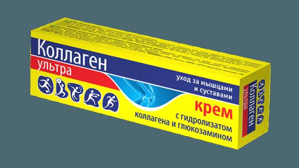 Крем «Коллаген Ультра» с глюкозамином