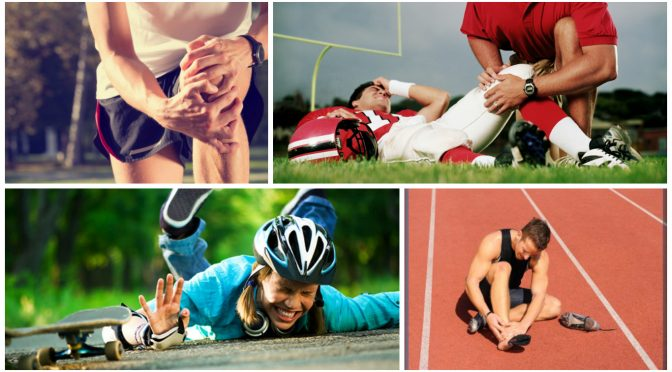 Спортивные травмы: виды и способы лечения